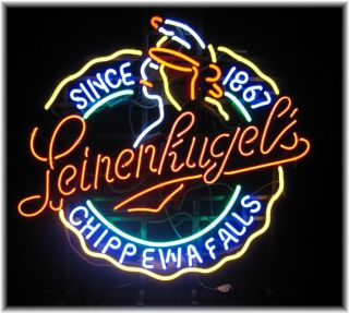 Leinenkugels Chippewa Falls Neon Bar Sign