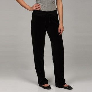 Calvin Klein Performance Womens Ribbed Waistband Sweat Pants