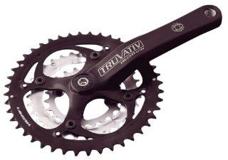 TruVativ ISOflow 3.0 8sp crankset, PS (42T) x 175mm blk