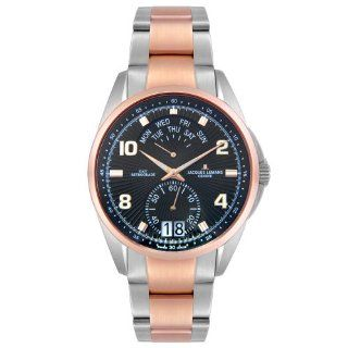 Jacques Lemans Mens GU171C Geneve Collection Tempora Rose Gold Tone