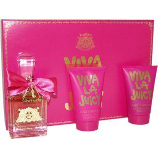 Juicy Couture Viva La Juicy Womens 3 piece Gift Set