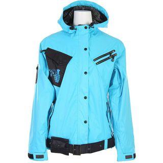 Grenade Autumn Women s Blue Snowboard Jacket