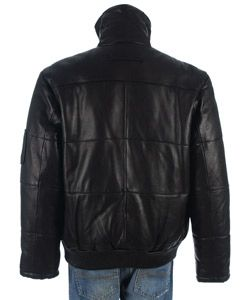 Phat Farm Mens Lambskin Leather Jacket
