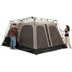Coleman Black and Gray Instant Two room Eight person Tent (14 x 8