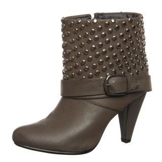 Bucco Womens 17 221 Studded Ankle Boots