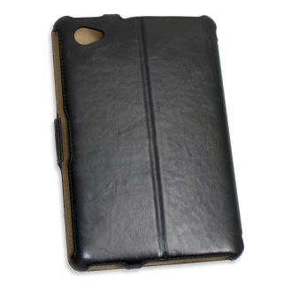 Kazee Black Leather Case for Samsung Galaxy Tab 7.7 inch CL ACC62045