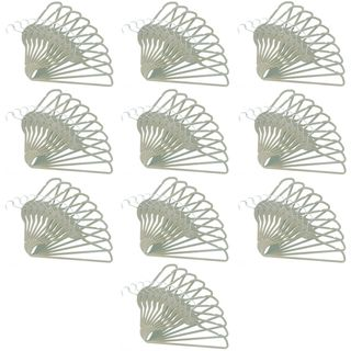 ClutterFREE Hangers Ivory Hanger (Pack of 100)