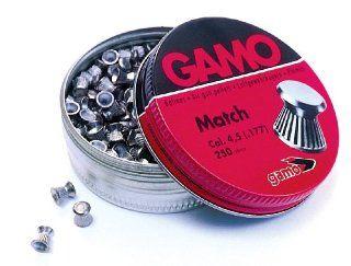 GAMO Flat Nose .177 Caliber Match Pellets (Tin of 250