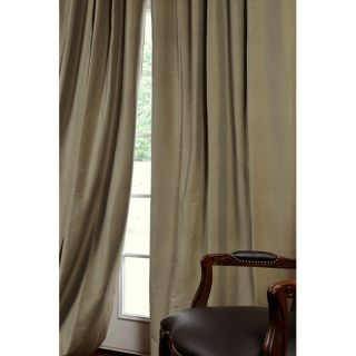 Signature Loden Cotton Silk 108 inch Curtain Panel