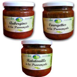 Bocaux de légumes bio cuisinés   Achat / Vente PLAT LÉGUMES