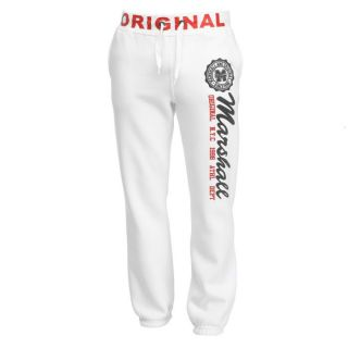 US MARSHALL Jogging Homme Blanc Blanc   Achat / Vente PANTALON US