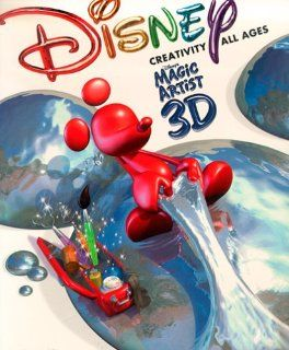 Disneys Magic Artist 3D: Software