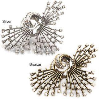 Sweet Romance Crystal Sea Urchin Pin