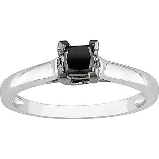 white gold 1 2ct tdw black diamond ring today $ 226 79 sale $ 204 11