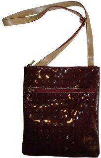 Arcadia Purse Handbag Leather Crossbody Polo Red/Natural Shoes