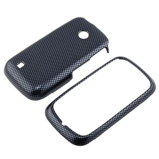 Carbon Fiber Snap on Case for LG VN270 Cosmos Touch