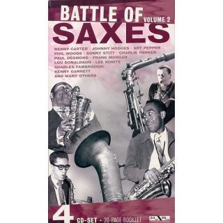 BATTLE SAXES VOL. 2   Achat CD COMPILATION pas cher