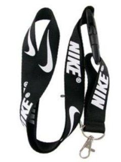 Nike Black Lanyard Keychain Holder    Automotive