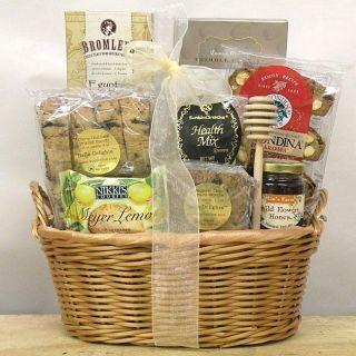 Kosherline Honey Blossom Gift Basket