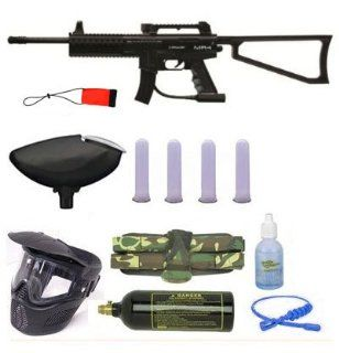 Spyder MR4 MR 4 Paintball Gun 4+1 9oz Tank Sniper Set