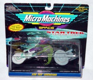 Micro Machines Star Trek Generations: Toys & Games