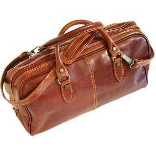 Floto Leather Vecchio Brown Venezia Mini Duffel Bag