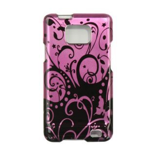 Premium Samsung Galaxy SII I777 Purple/ Black Protector Case