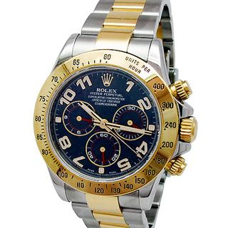 Pre owned Rolex Mens 18k Yellow Gold Daytona Watch