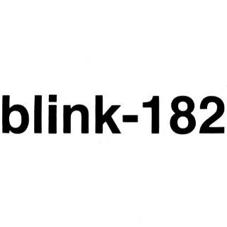 Blink 182   Logo   Cutout Decal   Sticker    Automotive