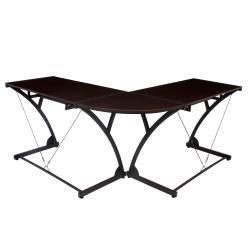 Regency Seating Modern Wood Computer L shaped Desk