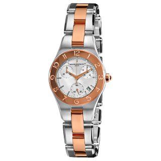 Baume & Mercier Womens Linea Two Tone Chronograph Watch