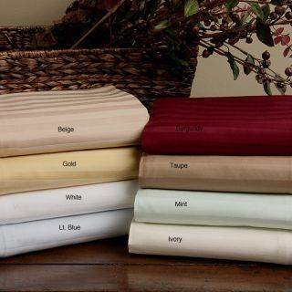 Egyptian Cotton 300 Thread Count Striped Sheet Set
