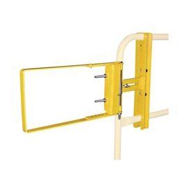 Spring Loaded Safety Gate 24  40W Opening Yellow