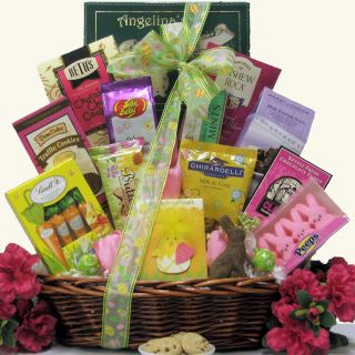 Divine Easter Sweets Large Chocolate & Sweets Easter Gift Basket Today