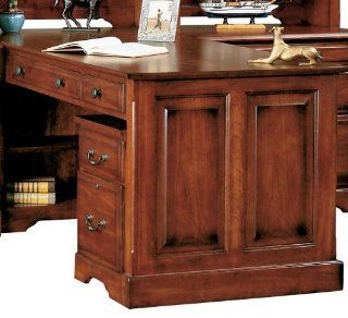 Country Cherry 72 Partner Desk by Winners Only   Cherry