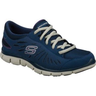 Womens Skechers Gratis Messengers Navy/Gray
