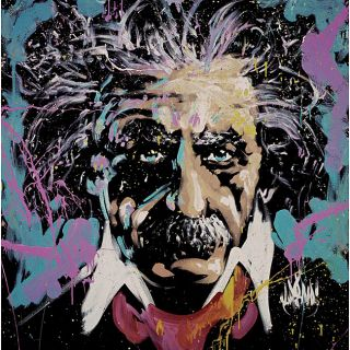 David Garibaldi EMC2 Einstein Wall Art