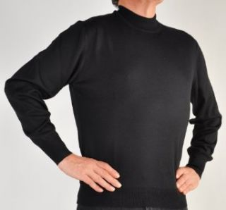 Zimmerli/GranSasso ExtraFine Merino Wool Mock Turtleneck