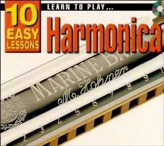 Learn to Play Harmonica 10 Easy Lesson (Book & CD) Learn