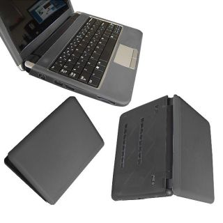 SKQUE Black Dell Inspiron Mini 9 Laptop Silicone Skin Case