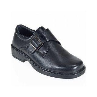 Slip Guardian Shoes Mens Monk Strap Slip Resistant Shoes 5013 Shoes