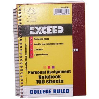 Norcom Exceed Personal Assignment Notebooks Case Pack 24
