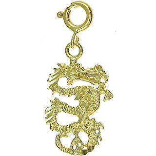 Yellow Gold Dragon Charm Today $114.99 3.5 (2 reviews)