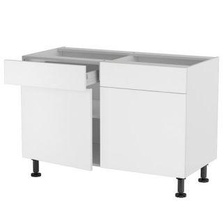 ELEMENTS HAUT ET BAS Meuble cuisine bas 120cm 2 tiroirs/portes 60*70