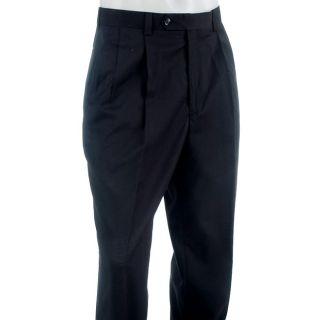 Rendezvous Mens Super 120 Wool Pleated Pants
