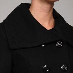 Betsey Johnson Womens Wool Tailored Coat