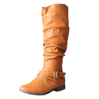 Refresh by Beston Womens Geneva Knee High Boots