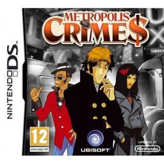 METROPOLIS CRIMES / JEU CONSOLE NINTENDO DS   Achat / Vente DS