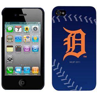 MLB Detroit Tigers iPhone 4/4S Baseball Slider Case   Navy