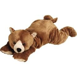 Joo Joo Jumbo Brown Bear Stuffed Animal Toy